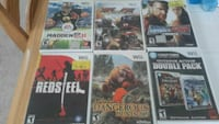 6 used wii games Bunker Hill, 25413