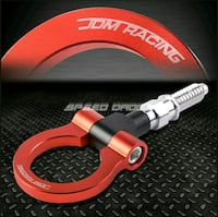 RED TOW HOOK RING