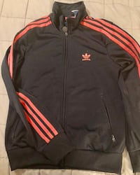 black and red Adidas zip-up jacket Mississauga, L5W 1E9