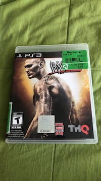 wwe 2k12 ps3 game Laval, H7W 3N7