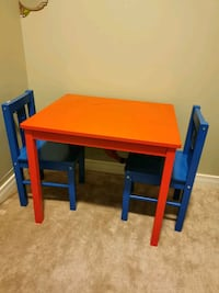 Table & 2 Chairs ( children's )