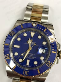 Rolex Submariner 116613 Ceramic bezel CUSTOM WATCH READ DESCRIPTION DETAILS  Arlington, 76017