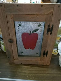 18 x 14 x 4 wall cabinet with apple tin door Hagerstown, 21740