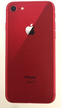 iPhone 8 red unlocked (negotiable price) Surrey, V3T