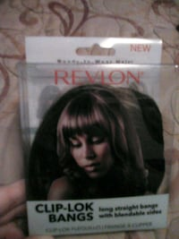 Clip on bangs Sherwood