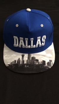 Blue and white dallas cowboys fitted cap Fort Worth, 76104