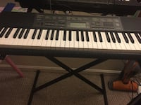 Casio Black and white electronic keyboard Germantown, 20874