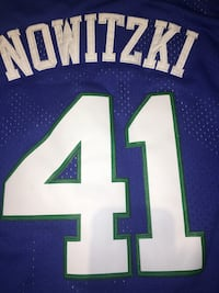 b7f647deb Men s Dallas Mavericks Dirk Nowitzki Mitchell   Ness Blue 1998-99 Hardwood  Classics Swingman Jersey