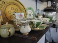Antique China Tea cups ans plates  TORONTO