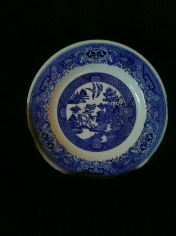 Antique China plate. Willow Wards by Royal China