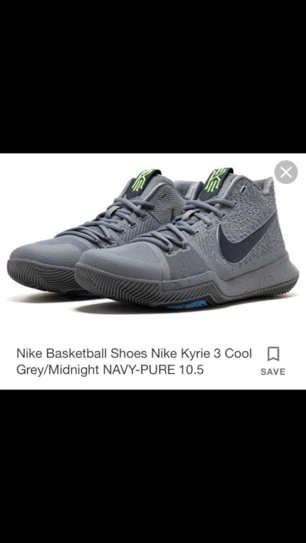 outlet store 37c8e bbb5f Men's 10.5 Nike Kyrie 3 basketball shoes