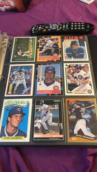 nine baseball player trading cards Coral Springs, 33071
