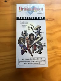 Drinking Quest card game new unopened