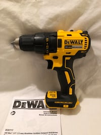 Brand new never used DeWalt 20V brushless drill driver. Tool only  Vacaville, 95687