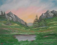 Original oil painting 16x20 Winchester, 22602