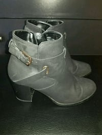 Black booties size 7 Vaughan, L6A 2E9