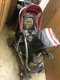 baby's black and red stroller Watervliet, 12110