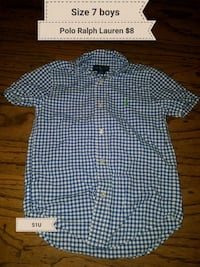 Boys size 7 Polo Ralph Lauren shirt Erath, 70533