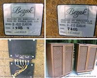 Huge bozak b410 speakers Consecutive serial numbers Woodstock, 22664