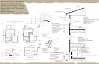 Architectural & interior design plans_ Permit & Details drawing MONTREAL