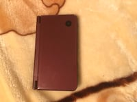 Nintendo DSI XL Burgundy with charger