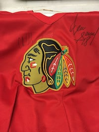 Signed Chicago Blackhawks Jersey Palos Heights, 60463