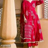 women's red and brown floral dress Mumbai, 400078