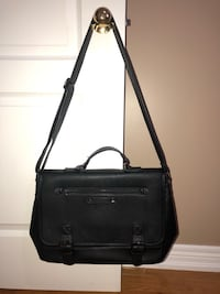 black leather 2-way bag Toronto, M6N