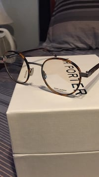 Tortoise Shell Saint Laurent Glasses w/ box , Glasses Case, & Dust cloth. 1000% AUTHENTIC
