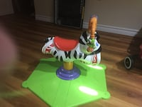 Rocking horse for 2-3 year olds Markham, L3T 6T8