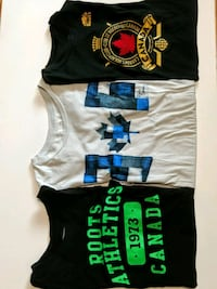 3 Roots short sleeves T, size S