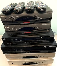 6 different Rogers / Cisco HD / PVR cable boxes Caledon