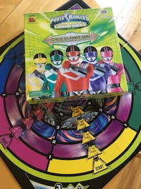 Power Rangers board game