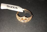 Crown ring Size 6. Charmed aroma