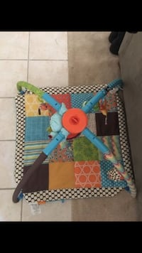 baby's orange, brown, and teal activity gym Norfolk