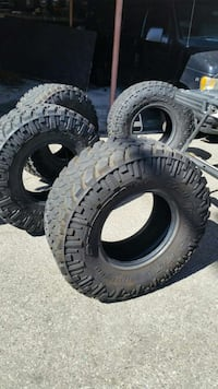 Used Nito Tires 37 Quot Rim 17 Quot Barely Used For Sale In Los