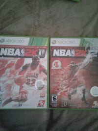 Xbox 360 games $12 for Both  Bakersfield, 93305