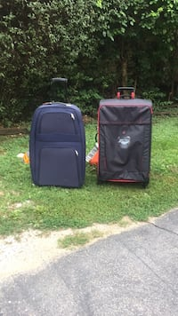 two black and red luggage bags Elgin, 60120