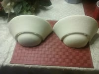 Wall sconces  $10.00 for pair Macon, 31216