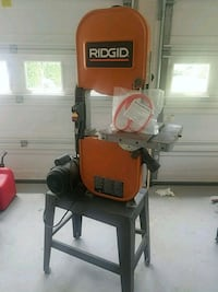 Ridgid band saw with brand new urethane tires Herndon, 20171
