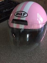 BLT Pink and White Motorbike Helmet League City, 77573