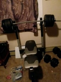 Weight bench and extra weights  Des Moines, 50317
