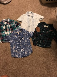 three assorted color button-up shirts Aliso Viejo, 92656