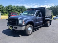 2006 Ford Super Duty F-350 DRW Reg Cab XL 4WD V10 DUMP TRUCK KINGSTON