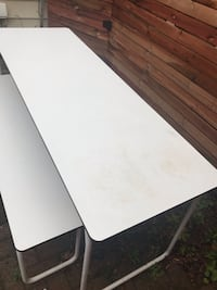 Ikea outdoor dining table and bench (foldable) Toronto, M6C 3L4