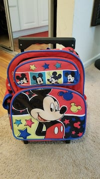Mickey Mouse roll backpack Costa Mesa, 92626
