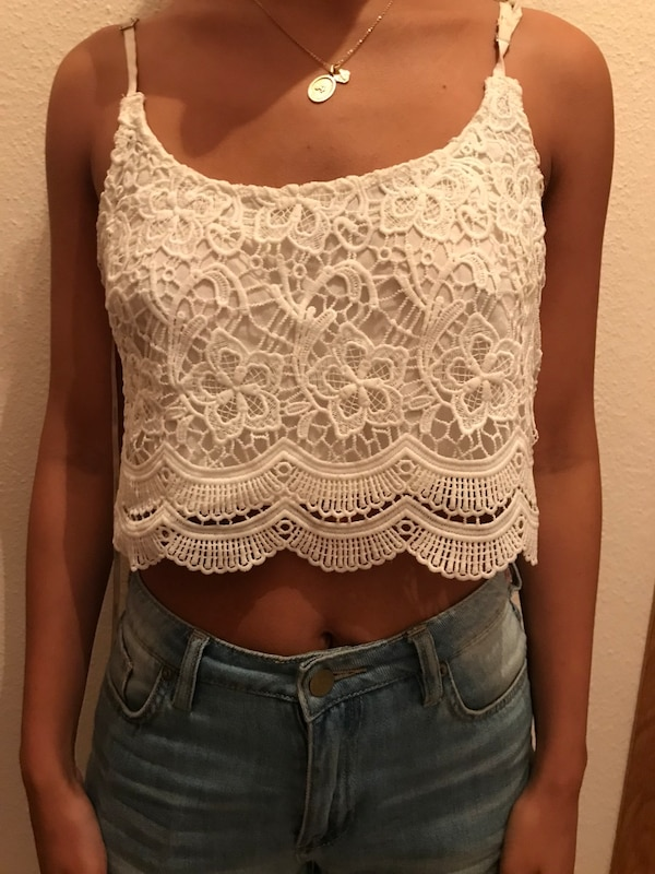 Crop top talla s marca forever 21