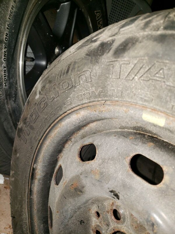 Used tire and rim 2