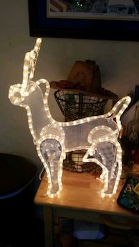 Small light up holiday deer Frederick, 21702