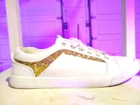 Guess-white & gold runners Nobleton, L0G 1N0